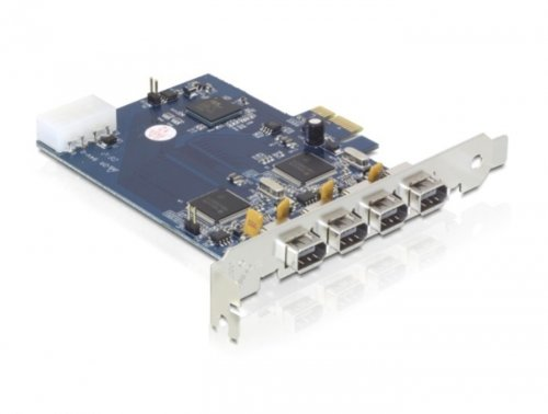 Delock PCI Expr Card 4x FireWire400 ext