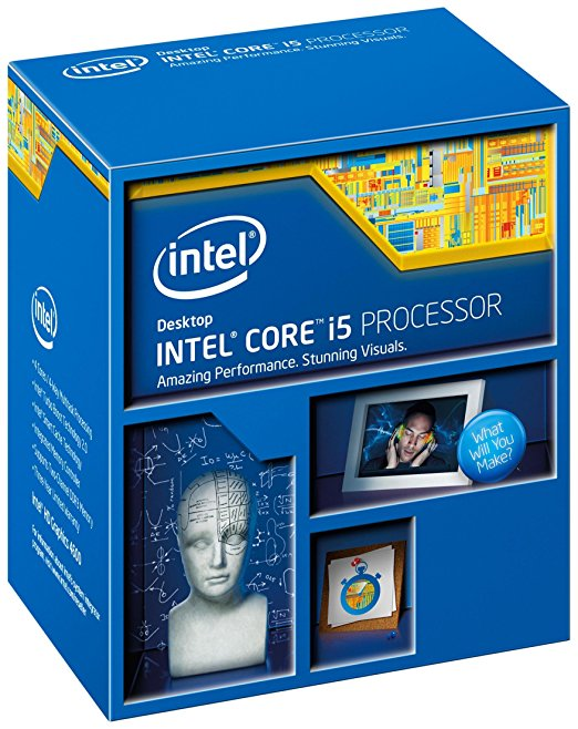 Intel Core i5-4440 - 3.1 GHz - BOX