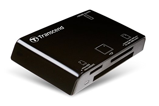 Transcend Multi-Card Reader RDP8K USB 2.0 Cardreader