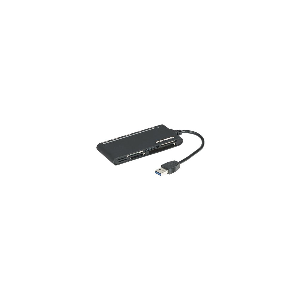 Manhattan Card Reader Reader/Writer USB 3.0 extern 62in1 sw