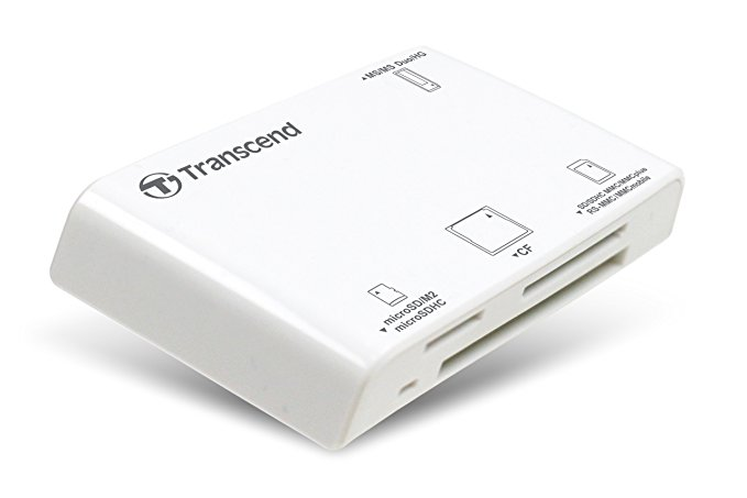 Transcend Multi-Card Reader RDP8W USB 2.0 Cardreader