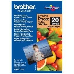 Brother BP7120 Premium Glossy Photo Paper Weiß Fotopapier