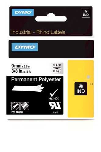 Dymo Permanent tape - Polyester
