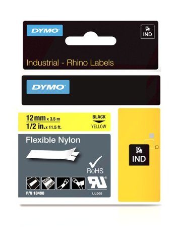 Dymo RhinoPRO Flexible Nylon - Flexitape - Nylon