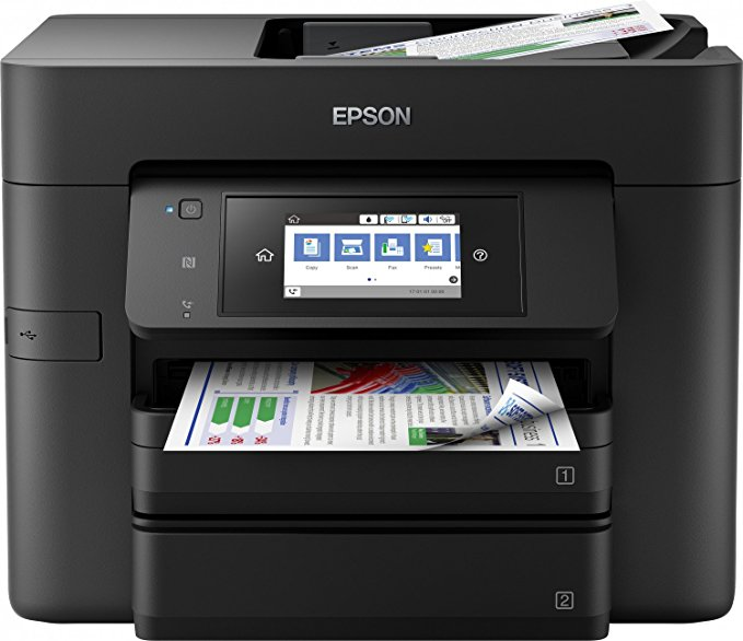 Epson WorkForce Pro WF-4740DTWF 4-in-1 Tinten-Multi
