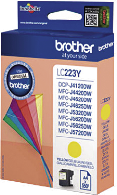 Brother LC-223Y MFC-J4420DW/J4620DW