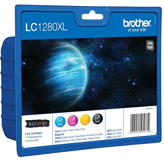 Brother LC-1280XLVALBPDR Multipack (cy, mg, ye, sw