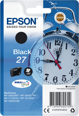 Epson 27 black Dura Brite Ultra Ink
