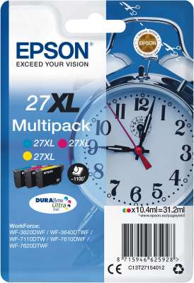 Epson Multipack 27XL Dura Brite Ultra   31,2ml