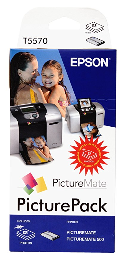 Epson Picture Pack Photo Cart. 100+35 Bl. T 557 T 5570 Tintenpatrone