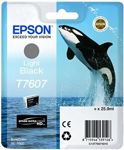 Epson light black T 7607 Tintenpatrone