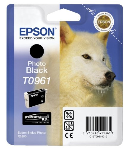 Epson photo black T 096 UltraChrome K 3 T 0961 Tintenpatrone
