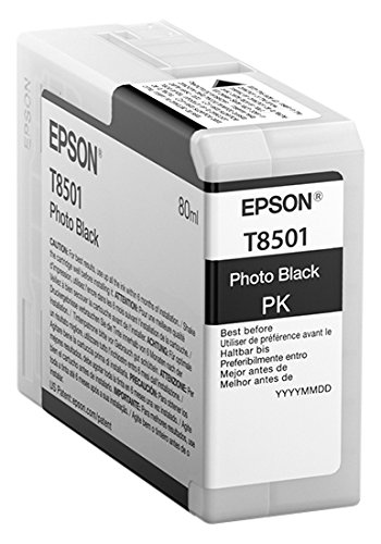 Epson photo black T 850 80 ml T 8501 Tintenpatrone