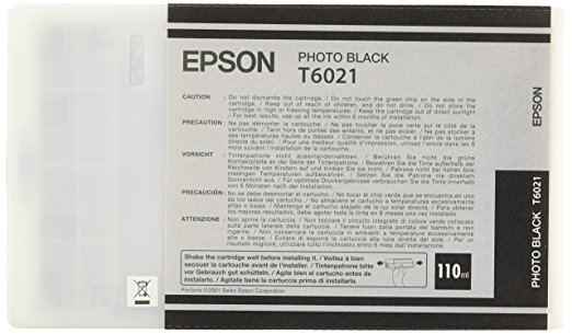 Epson photo schwarz T 602 110 ml T 6021 Tintenpatrone