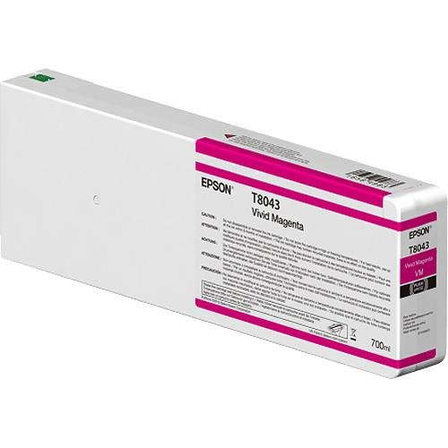 Epson UltraChrome HDX/HD viv magenta 700 ml T 8043 Tintenpatrone