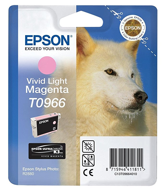 Epson viv. light mag T 096 UltraChrome K 3 T 0966 Tintenpatrone