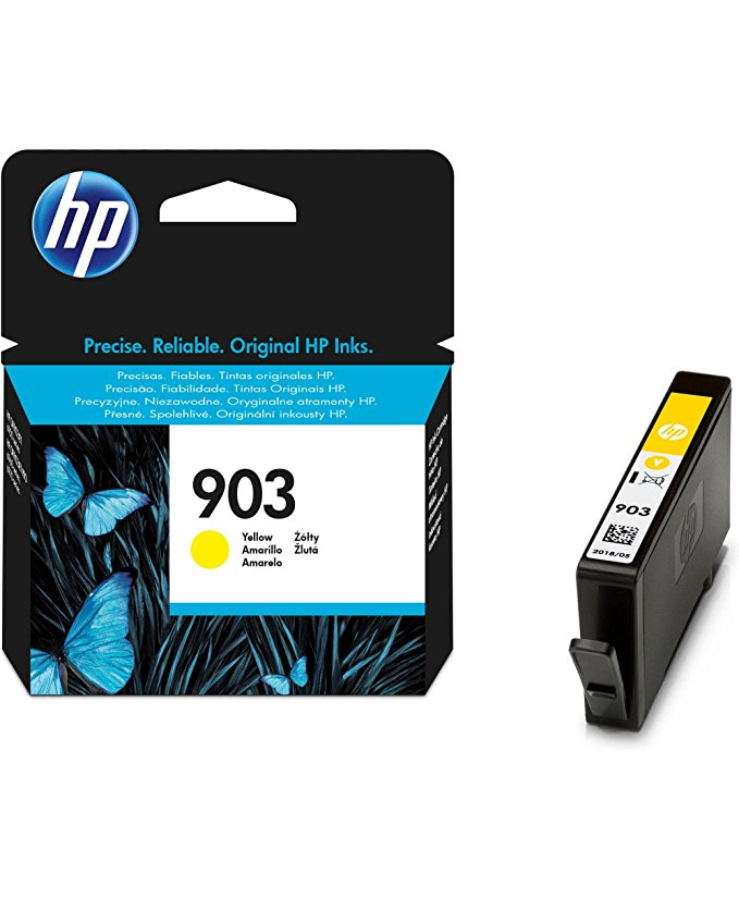 Hewlett Packard T6L95AE Tintenpatrone yellow No. 903