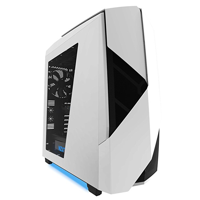 NZXT Noctis 450 Tower-Gehäuse weiß, Window-Kit