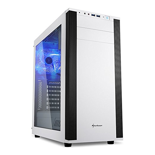 Sharkoon Gehäuse Sharkoon M25-W ATX 7.1 Sound Weiß