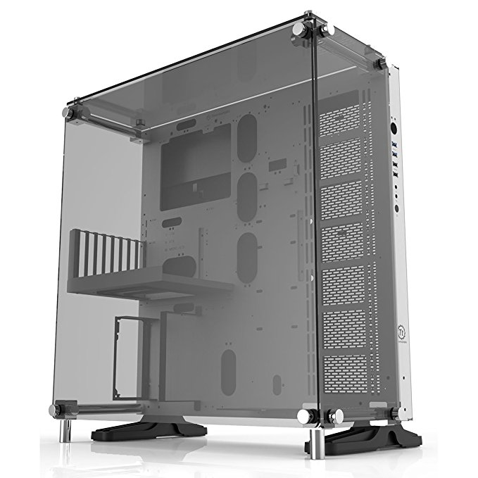 Thermaltake Core P5 Tempered Glass Snow Edition Bench/Show-Gehäuse weiß/schwarz, Window-Kit