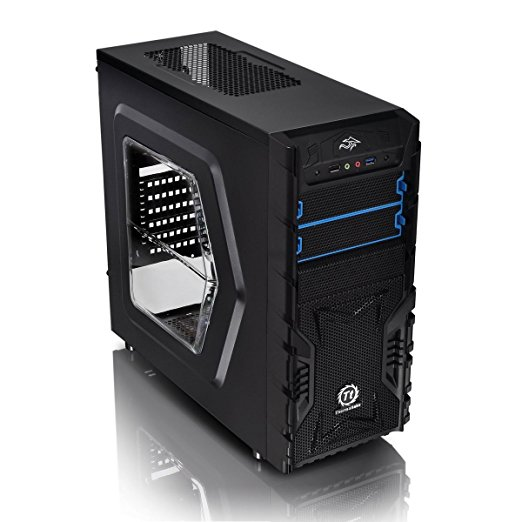 Thermaltake Versa H23 Window Tower-Gehäuse schwarz, Window-Kit