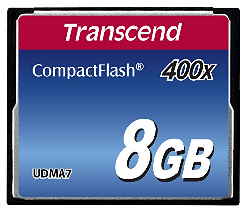 Transcend Compact Flash Card 8GB MLC 400x