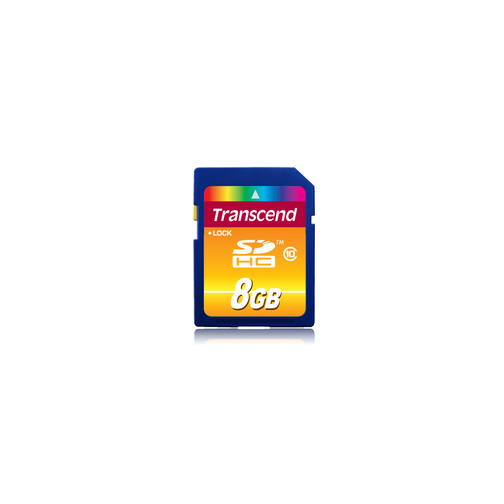 Transcend SD Card 8GB Transcend SDHC Class10