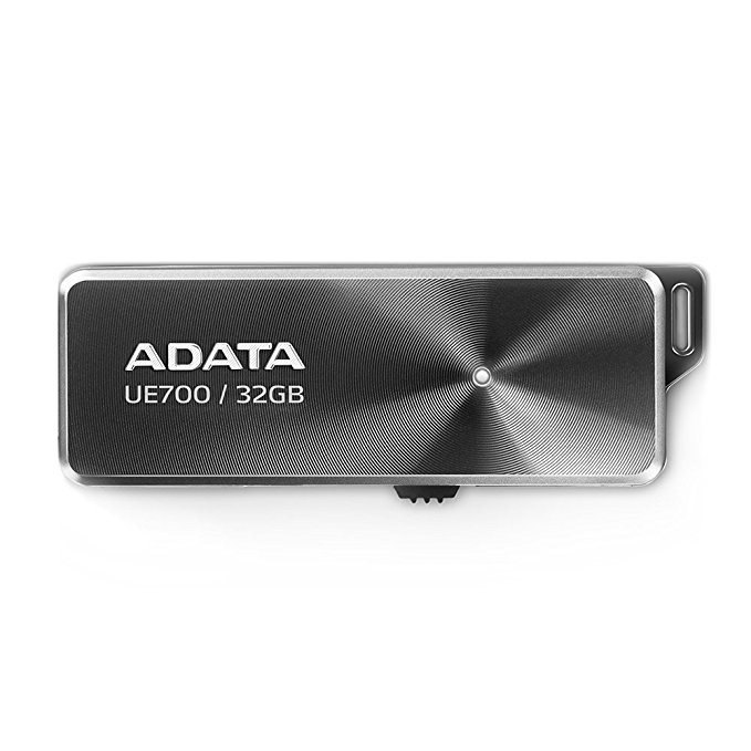 Adata DashDrive Elite UE700 32 GB USB-Stick schwarz, USB 3.0