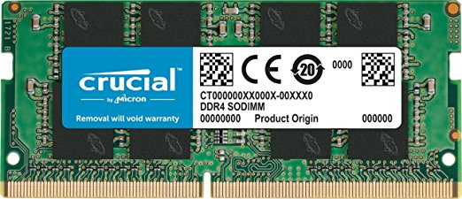Crucial SO-DIMM 8GB DDR4-2133 CT8G4SFD8213 Notebookspeicher
