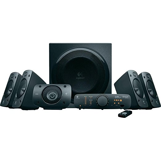Logitech Z 906 5.1 Sourround Speaker Lautsprecher PC