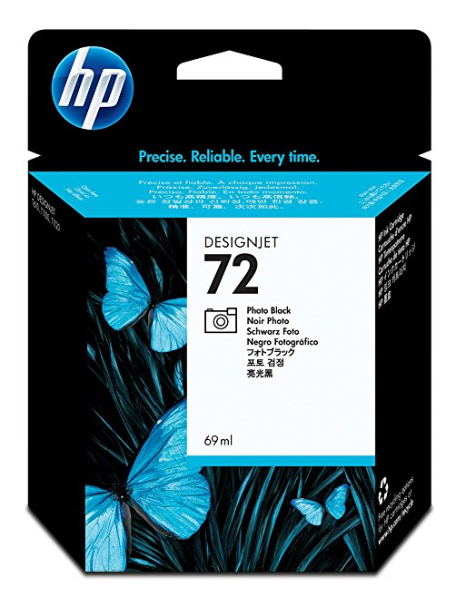 Hewlett Packard 72 - 69 ml - Photo schwarz